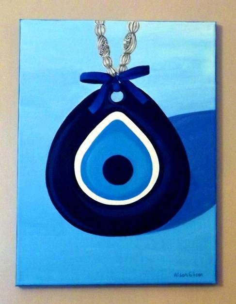 Nazar blue eye symbol